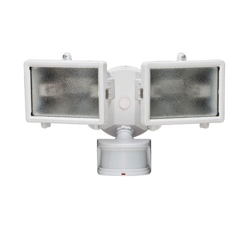 defiant security light defiant 270 degree white motion outdoor security lighting