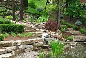 les 25 meilleures idees concernant roches d39amenagement With amenagement jardin avec pierres 5 paysage jardin exceptionnel et sophistique en 53 idees