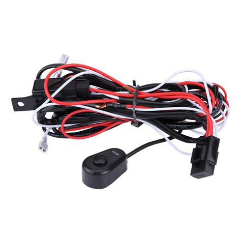 New Universal Fog Lamp Light Switch Control Wire