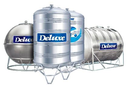 Deluxe 304 Stainless Steel Horizontal With Stand Water Tank