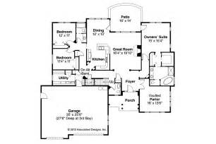 craftsman homes floor plans craftsman house plans cauldwell 30 509 associated designs