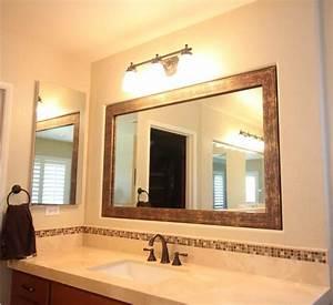 Framing, A, Bathroom, Mirror