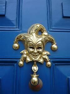 Funny, Door, Knocker