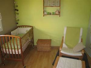 chambre bebe taupe et vert anis systembaseco With chambre bebe vert et blanc