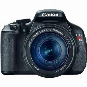 Canon EOS Rebel T3i 18 MP CMOS Digital SLR Camera with EF ...