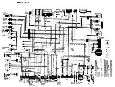 Honda Motorcycle Cbf Wiring Diagram Circuit