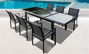 Table A Tapisser Brico Depot : salon de jardin verre alu id es de d coration ~ Dailycaller-alerts.com Idées de Décoration
