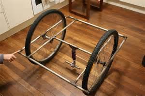 Homemade 4 Wheel Bike