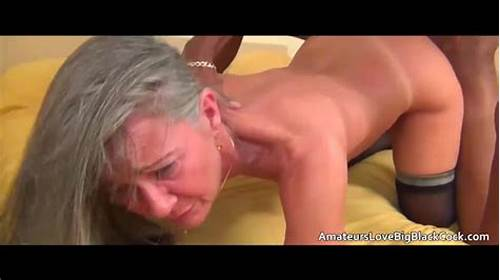 Please Input A Black Hair Description Of Your Problem #Grey #Haired #Granny #Enjoys #Big #Black #Cock
