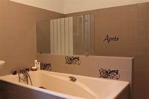 peindre le carrelage d39une salle de bains l39atelier de With comment peindre de la faience