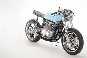 Racing Caf U00e8  Honda Cb 550 1977  U0026quot Inverted U0026quot  By Steel Bent