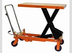 Hydraulic Scissor Lift Table Cart 2200 lb TF100