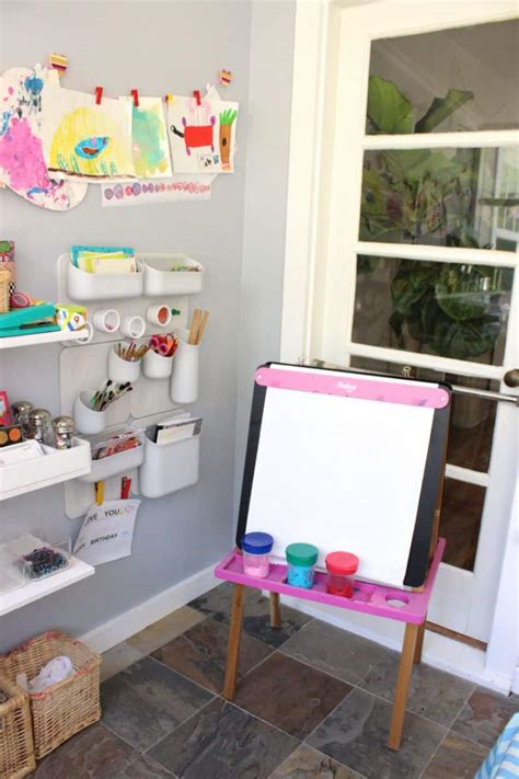 10 Tips For Creating A Home Art Space For Kids