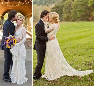 Kelly Clarkson Posts First Romantic Wedding Photos To ...