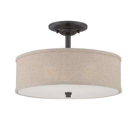quoizel cra1717mc cloverdale semi flush mount ceiling