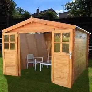 Abri De Bois : abri de jardin bois toit polycarbonate 12 52 m ep 28 mm ~ Melissatoandfro.com Idées de Décoration