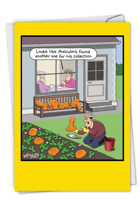 rude vegetables cartoons retirement greeting card  tim whyatt