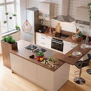 Deco Cuisine Bois : tendance d co cuisine 10 nouveaut s blog but ~ Melissatoandfro.com Idées de Décoration