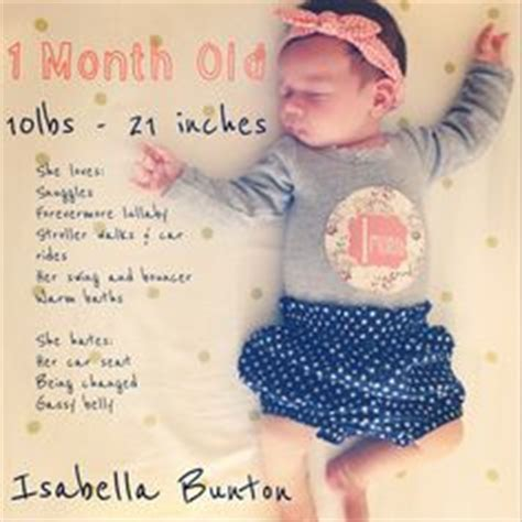 Happy 1 Month Baby Girl Quotes