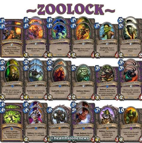 Hearthstone Zoolock Deck Cheap the world s catalog of ideas