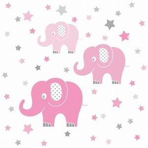 Wandtattoo Elefant Kinderzimmer : dinki balloon kinderzimmer wandsticker elefanten rosa grau 48 teilig bei fantasyroom online kaufen ~ Sanjose-hotels-ca.com Haus und Dekorationen
