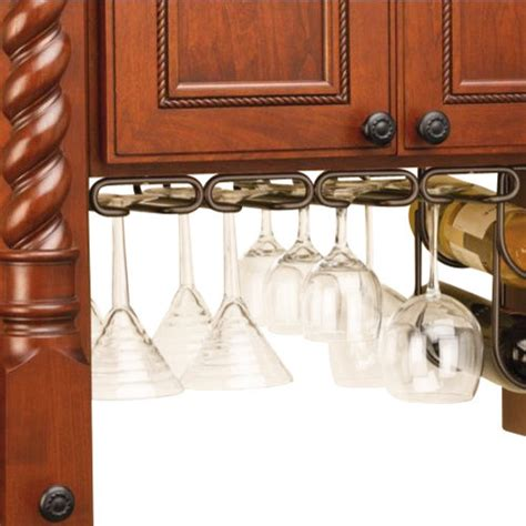 cabinet stemware rack uk rev a shelf 3450 11orb 11 quot cabinet stemware