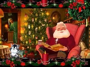 Schöne Weihnachten Grüße : liebe gr e f r frohe weihnachten vom weihnachtsmann ~ Haus.voiturepedia.club Haus und Dekorationen