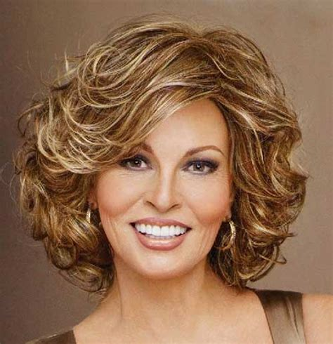 popular short curly hairstyles   faces short