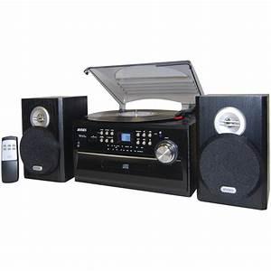 Radio Cd Kassette : jensen jta475b 3 speed turntable with cd am fm stereo ~ Jslefanu.com Haus und Dekorationen