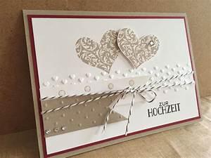 Karte Zur Hochzeit : herzklopfen stampin up wedding cards wedding ~ A.2002-acura-tl-radio.info Haus und Dekorationen