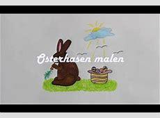 VIDEO Osterbild malen so gelingt ein Hase