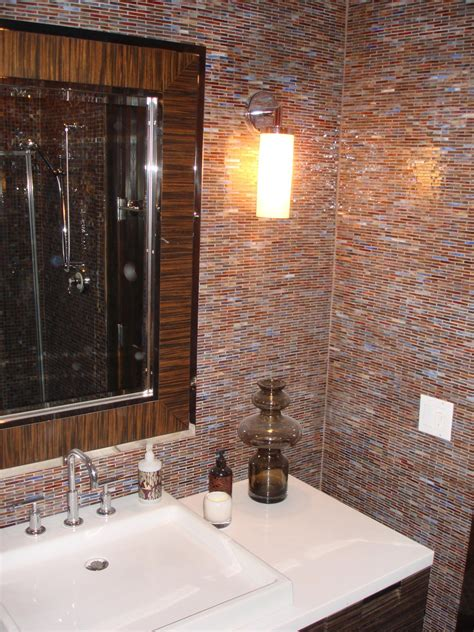 On Bathroom Wall Tiles by Glass Mossaic Tile Bathroom Vanity Wall New Jersey