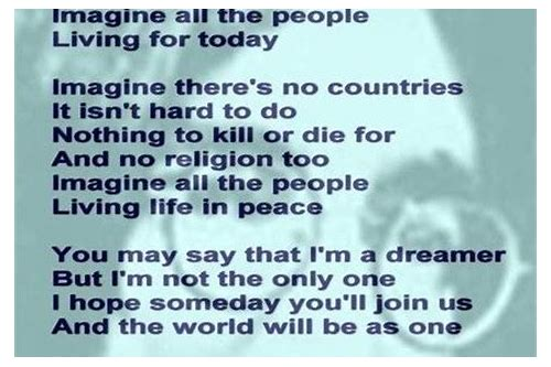 imagine song download by john lennon
