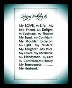 happy birthday poem my husband pictures reference