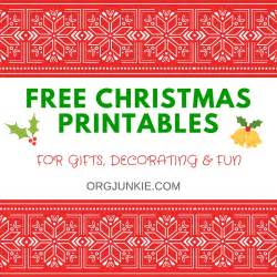 free printables for gifts decorating and