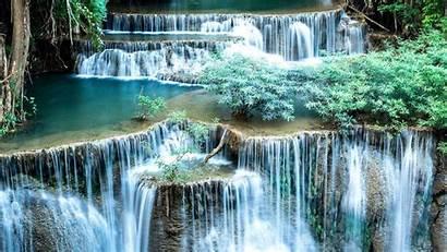 Watervallen Pemandangan Wodospad Waterfalls Tapeta Spectacular Wallpapers