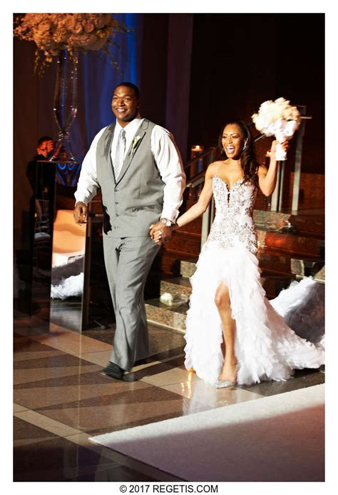 chris samuels monique  married wedding