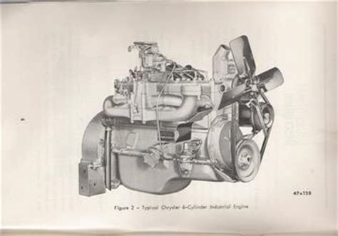 Chrysler Industrial Engine Parts by 1950 Chrysler Industrial Engine Tractorshed