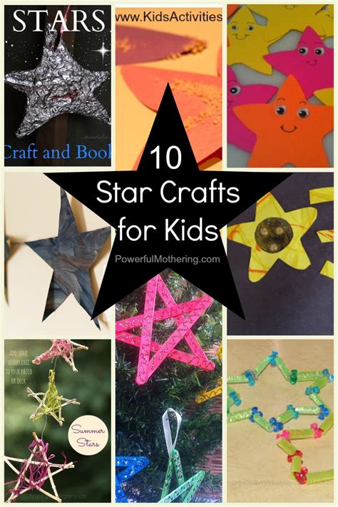 10 crafts for 810 | Star Crafts for Kids 10 Ideas 1
