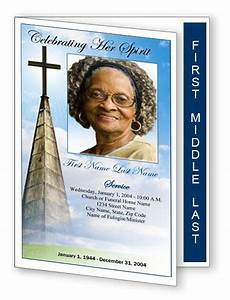 free funeral program templates templates programs on With free funeral program template publisher