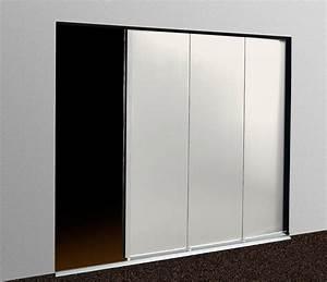 porte de garage coulissante laterale quotvillaquot sans rainure With porte de garage coulissante latérale motorisée