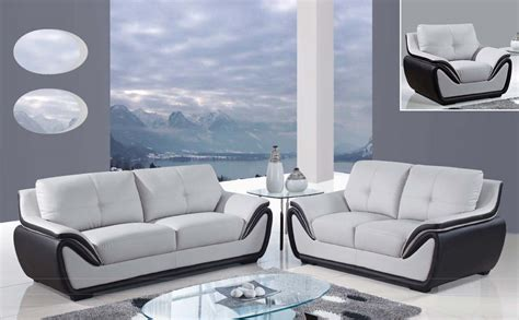 global furniture usa sofa global furniture usa 3250 sofa set grey black bonded