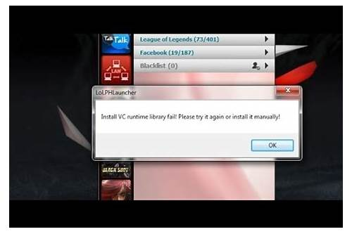 lol pvp.net error