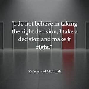 10 best ** Muha... Confident Decision Quotes