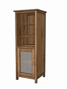 Free Bathroom Linen Cabinet Plans - WoodWorking Projects