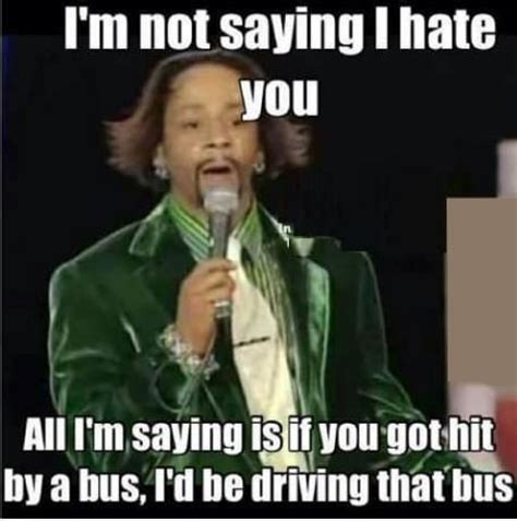 Hate Memes - i m not saying i hate you lots of laughs pinterest funny pretty much and too funny