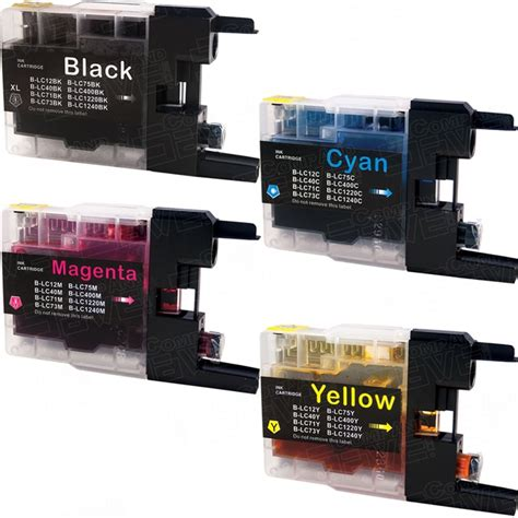 To download the needed driver, select it from the list below and click at 'download' button. New Compatible Brother LC75 XL (Bulk Set of 4 Packs) High Yield Inkjet Cartridge (LC75 Series ...