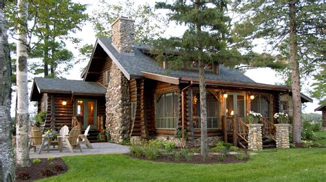 Amicalola Cottage Rustic Style House Plan European French