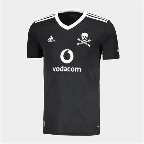 Orlando pirates football club launched their 2020/2021 season jerseys today and the jerseys are quite beautiful and i would love to buy it for myself the cross bones design represents who we are and our culture, the black colors represent orlando pirates. adidas Orlando Pirates Home Shirt 20/21 Mens, £58.00