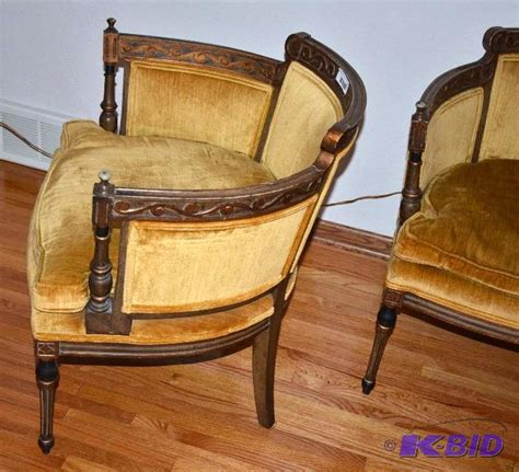 statesville chair company hickory nc two matching vintage statesville chair co nbs